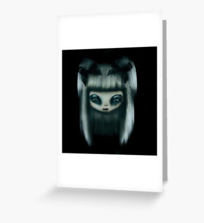 Silver Doll Greeting Card