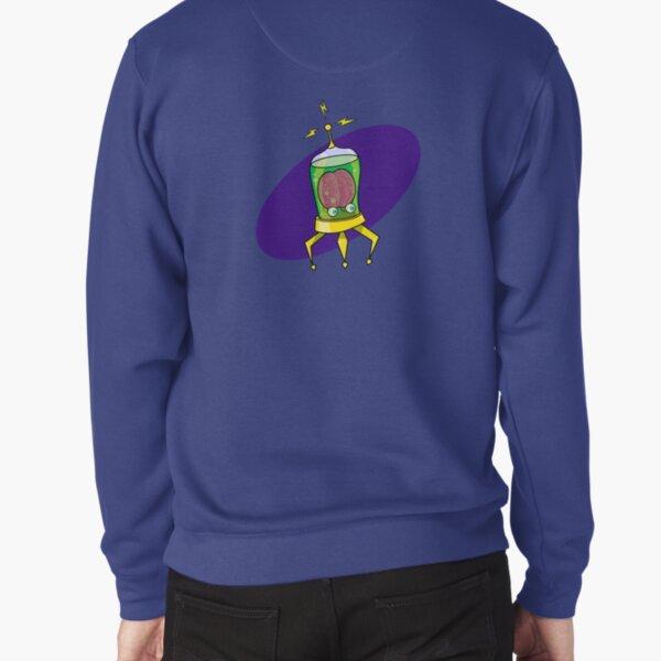 Aux, the Brain in a Jar Pullover Sweatshirt