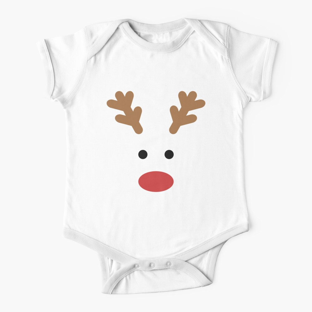 Team Rudolph - Brightest of them all! Baby One-Piece