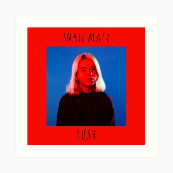 Snail Mail – Lush album cover Art Print