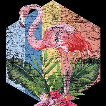Flamingo pink by GeschenkIdee