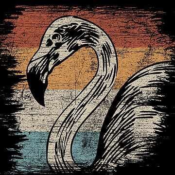 Flamingo swimmer by GeschenkIdee