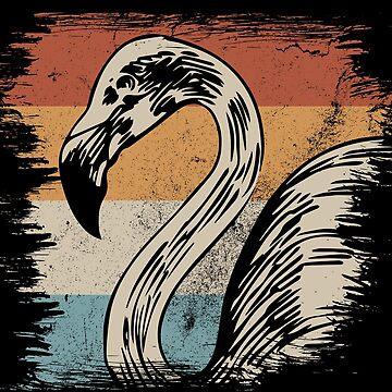 Flamingo water by GeschenkIdee