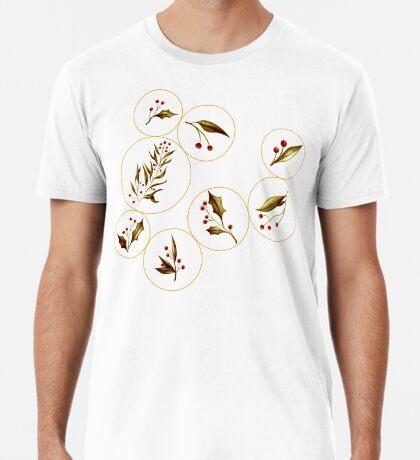 Cozy Baubles #redbubble #xmas Premium T-Shirt