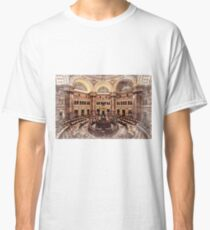 Library of Congress Main Reading Room Classic T-Shirt