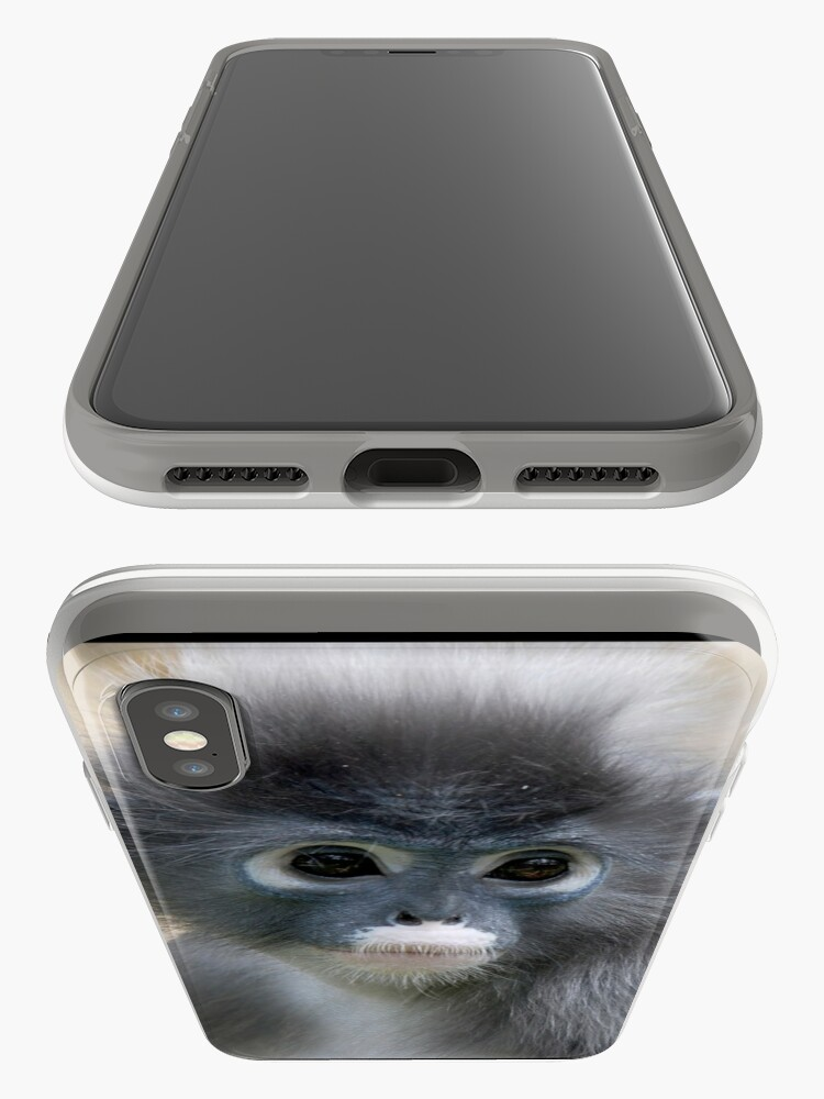 Alternate view of Dusky Leaf Monkey - (Trachypithecus obscurus) iPhone Case & Cover