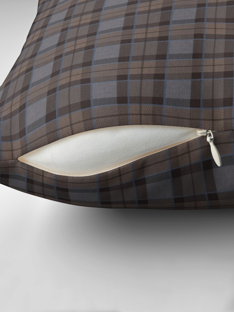 Alternate view of outlander tartan - fraser tartan Floor Pillow