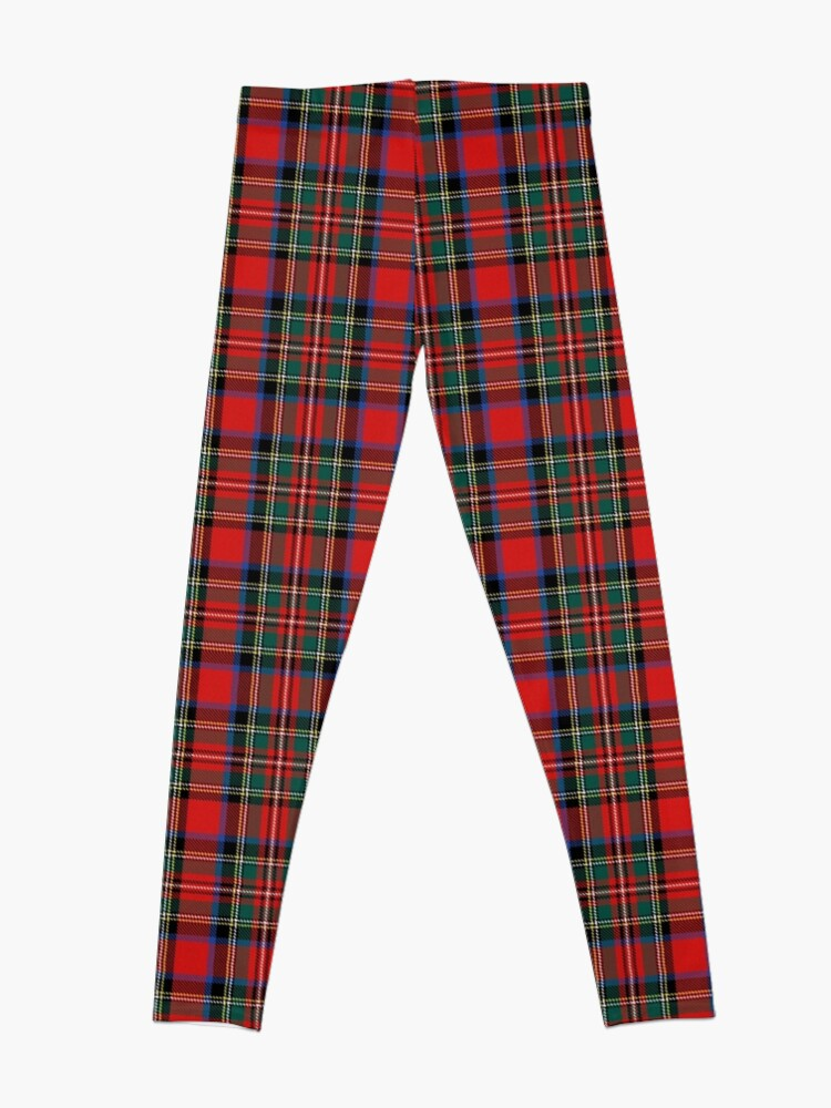 Alternate view of tartan stuart outlander Leggings