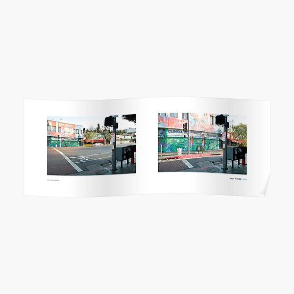 Sunset Boulevard, Echo Park (I), Los Angeles, California, USA...narrowed. Poster