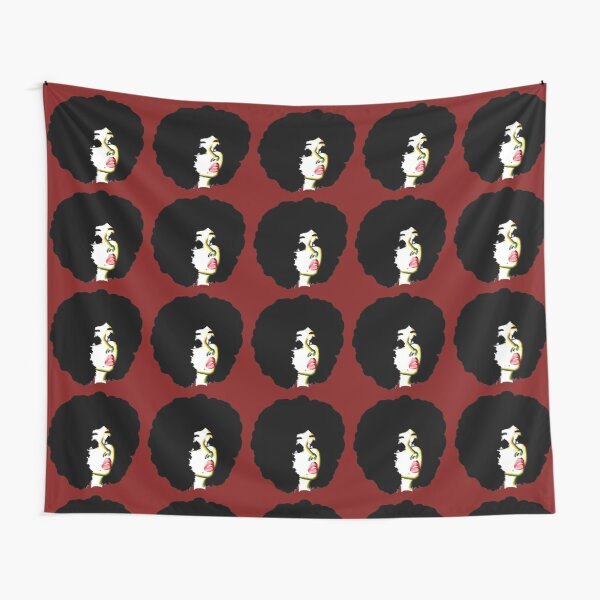Look Beyond Your Future Afro Hair Natural Hair Art Tapestry
