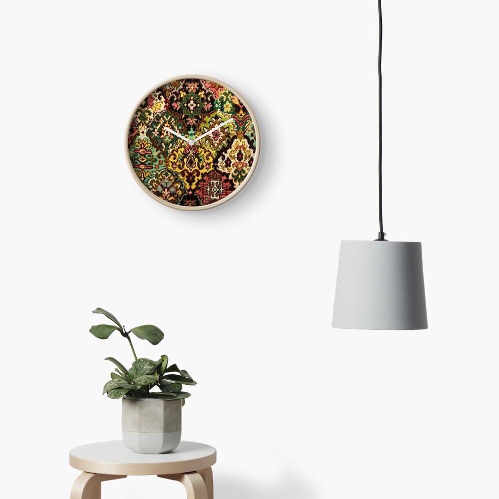 Tapestry Clock