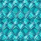 Line Blue Pattern  by elangkarosingo