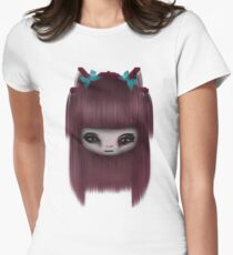 Doll Womens Fitted T-Shirt