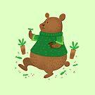 Succulent propagation teddy bear by jasmineberry