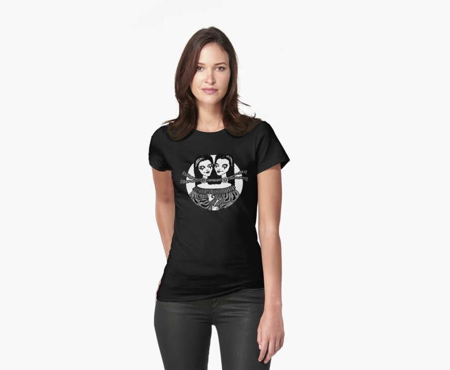 Two Heads Are Better Than One (Tee) by Anita Inverarity