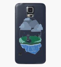 Floating Gem Island Case/Skin for Samsung Galaxy