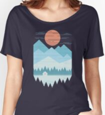 Cabin In The Snow Women's Relaxed Fit T-Shirt
