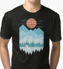 Cabin In The Snow Tri-blend T-Shirt