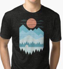 Kabine im Schnee Vintage T-Shirt