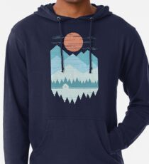 Cabin In The Snow Lightweight Hoodie