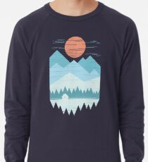 Cabin In The Snow Lightweight Sweatshirt