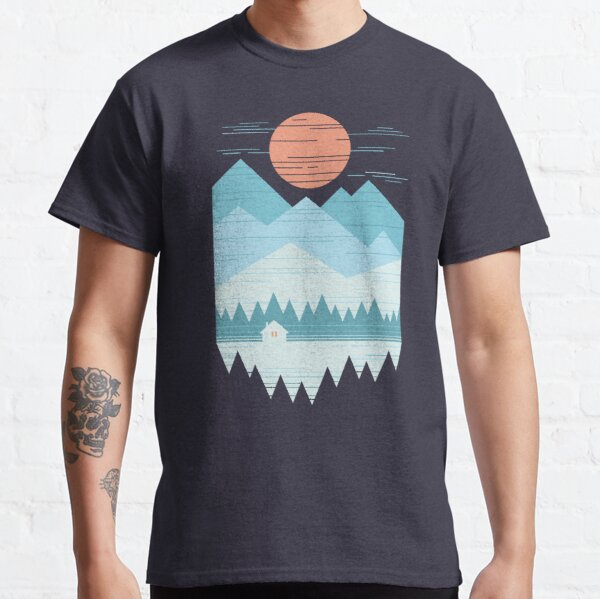 Cabin In The Snow Classic T-Shirt