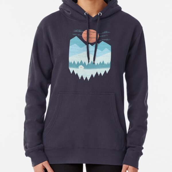 Cabin In The Snow Pullover Hoodie