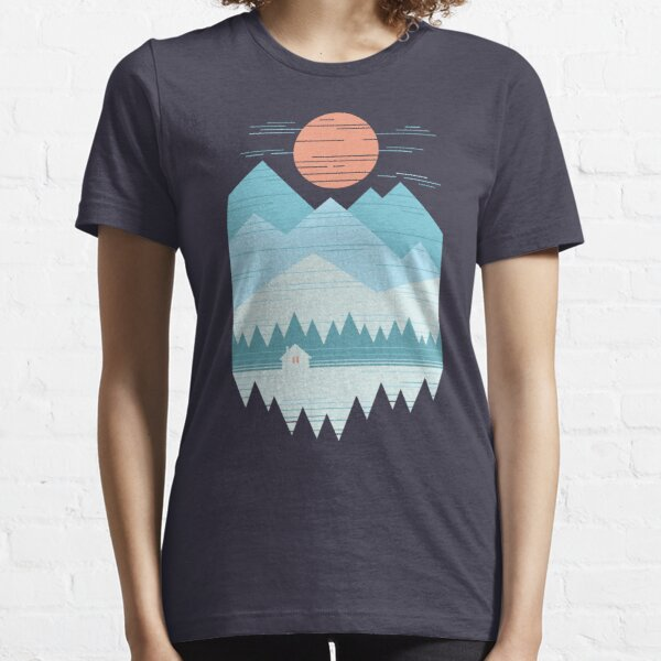 Cabin In The Snow Essential T-Shirt