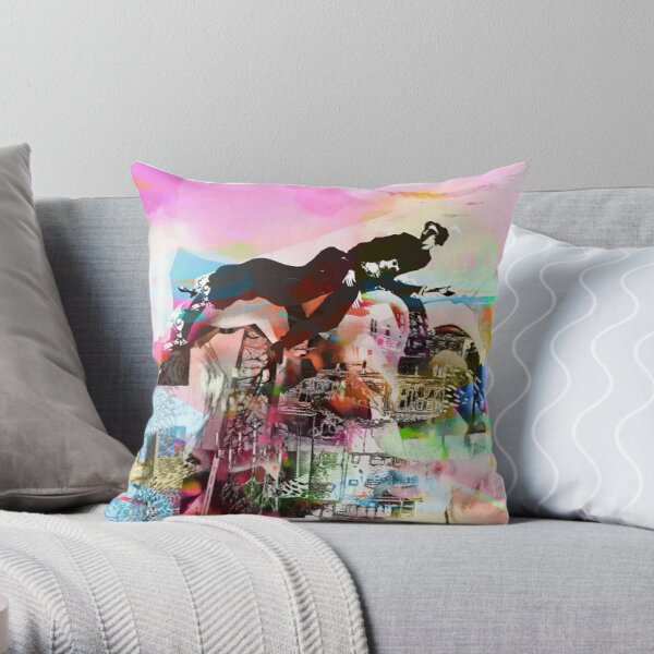 hommage for Marc Chagall Throw Pillow