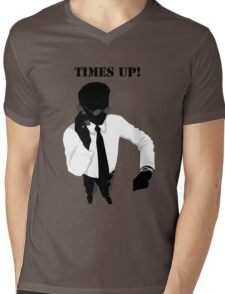 Business - Times Up! Mens V-Neck T-Shirt