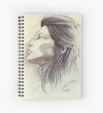 Laetitia in Pastel Spiral Notebook