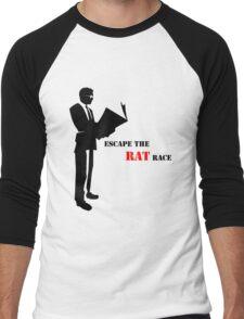 Business - Rat Race Men's Baseball ¾ T-Shirt