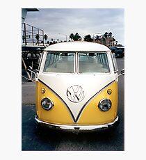 VW Bus Split window Photographic Print