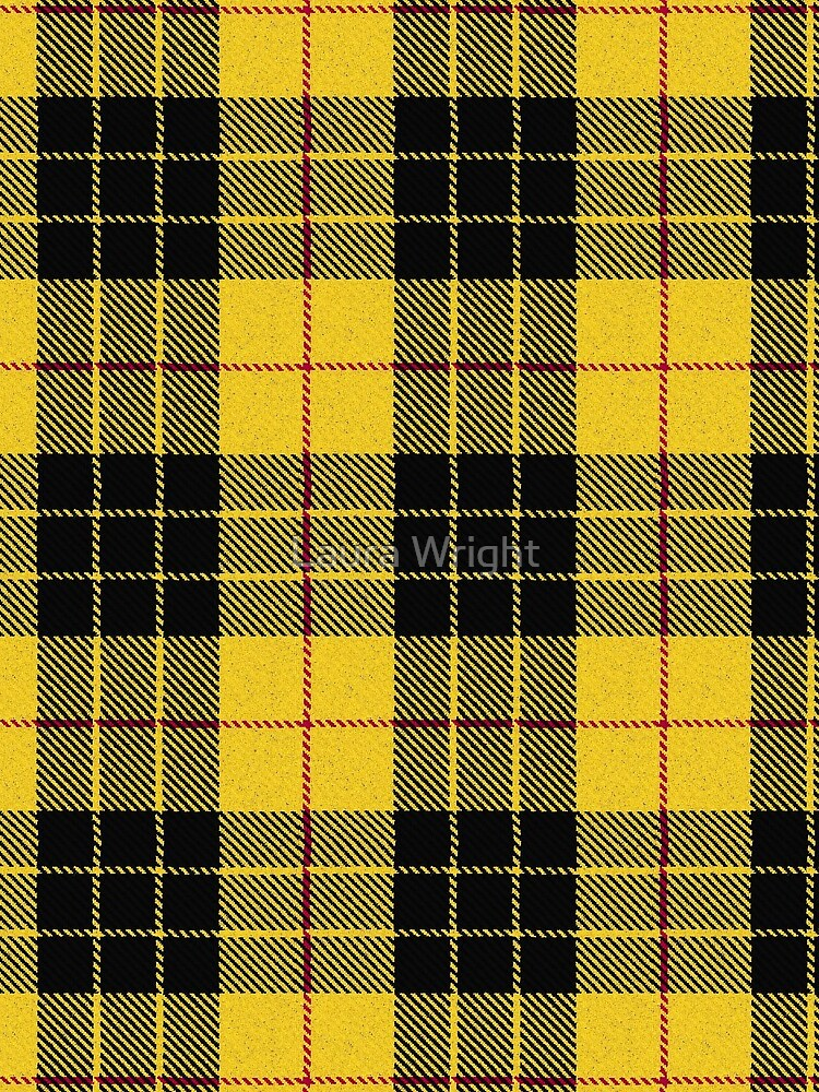 Clan MacLeod Tartan by laurathedrawer