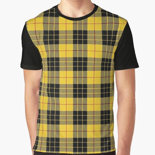 Clan MacLeod Tartan Graphic T-Shirt