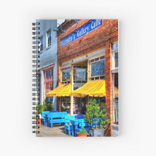 Quaint Caffe Spiral Notebook