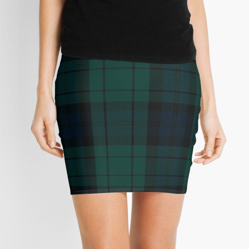 Black Watch tartan Mini Skirt