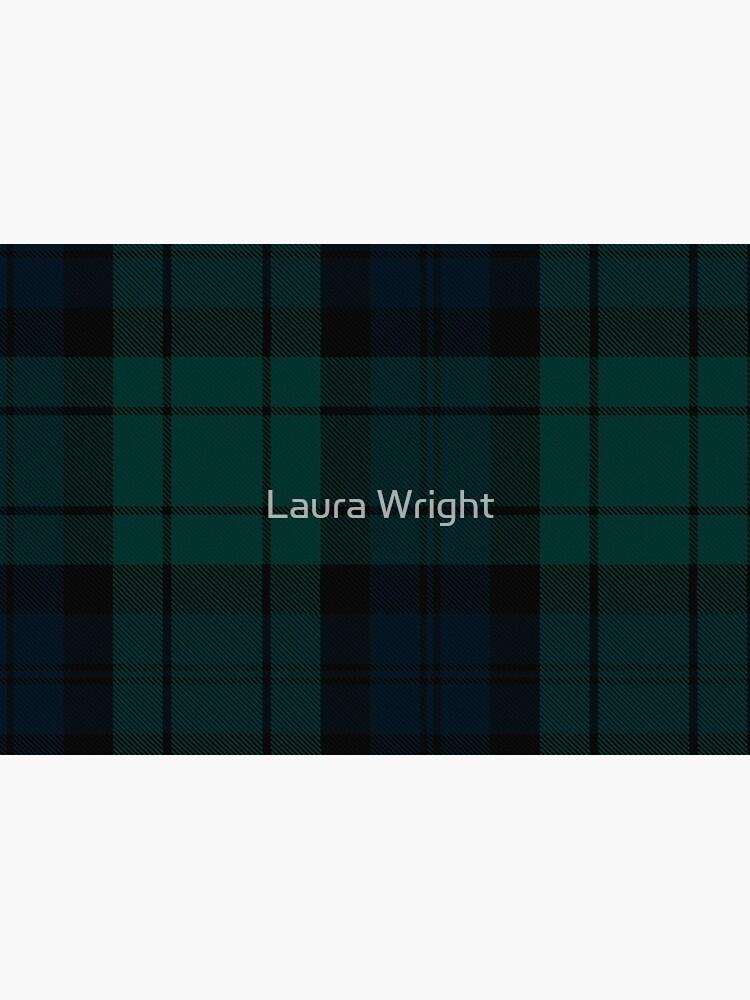 Black Watch tartan by laurathedrawer