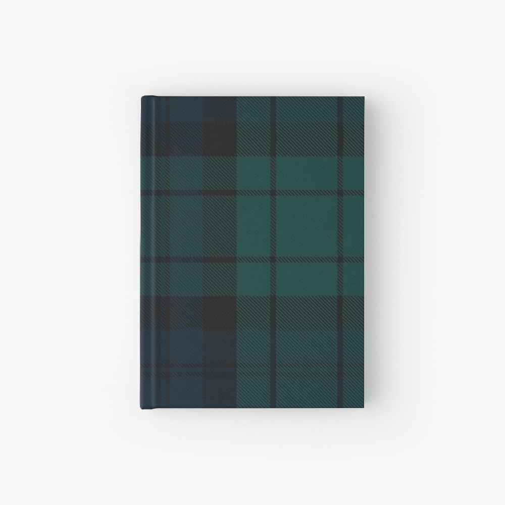 Black Watch tartan Hardcover Journal
