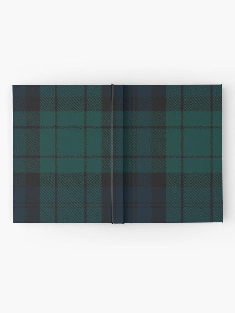 Alternate view of Black Watch tartan Hardcover Journal
