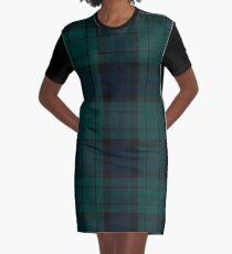 Black Watch tartan Graphic T-Shirt Dress