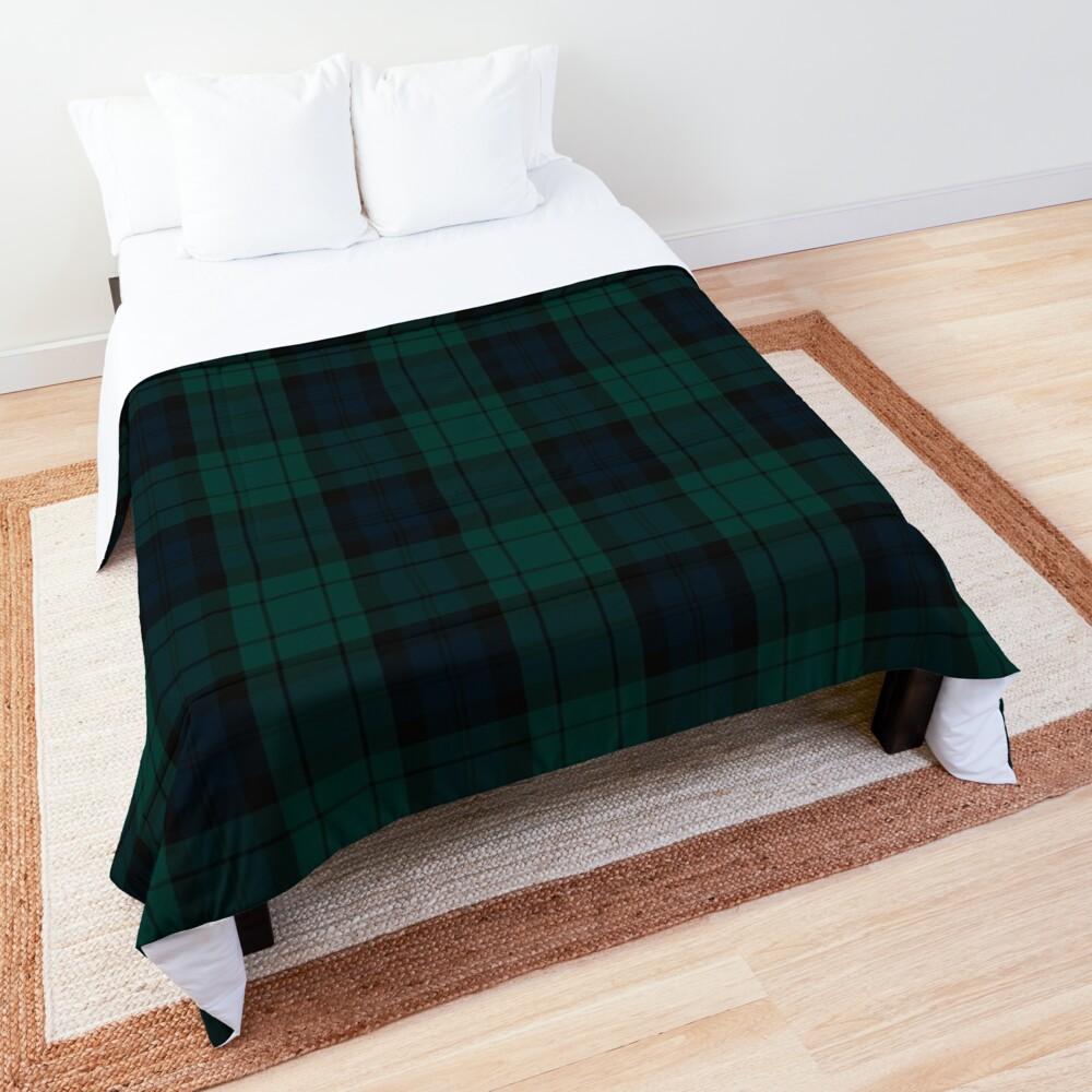 Black Watch tartan Comforter
