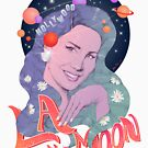 «Lana del Rey's 'LA To The Moon' Tour design» de juanjomurillo