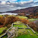 Dolbadarn Castle View by Adrian Evans
