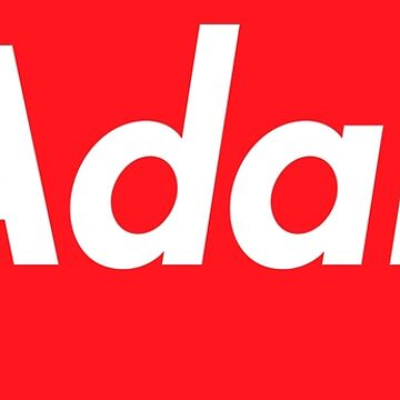 Hello My Name Is Adan Name Tag by efomylod