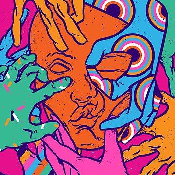 Color touch by Chuvardina