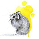 Hamster Watercolour by nantia