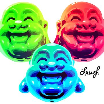 Buddha Laugh by FuShark