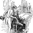 """Let me leave it alone then"", said Scrooge. by Bonnie Nilsen"