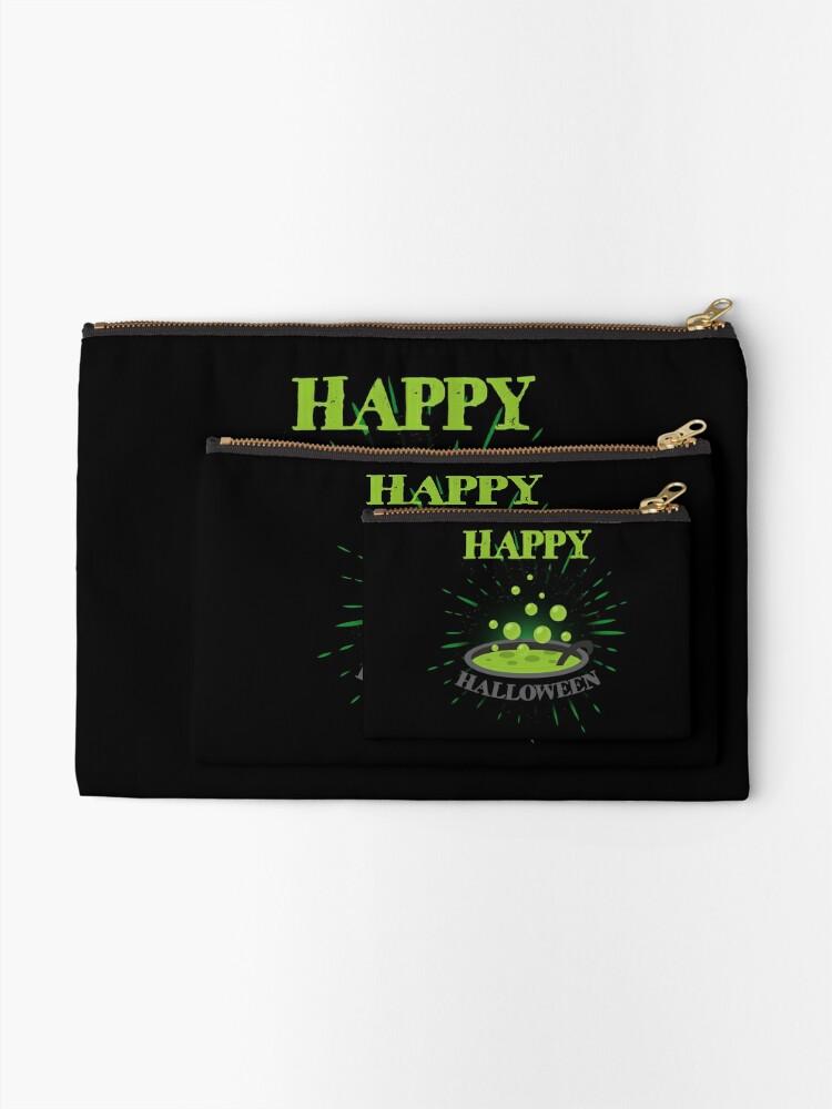 Vista alternativa de Bolsos de mano Horror Witch Enchantress Potion Halloween Funny Gift